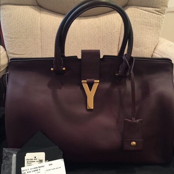 dce623d516e3 NEW Saint Laurent Sac Ligne Y